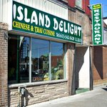 The Island Delight Restaurant is located in the centre of downtown Brockville.