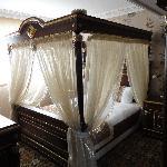 Eines der zwei Schlafzimmer in der Suite