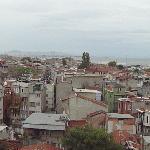 Panorama Bild von Istanbul aufgenommen aus dem Hotelzimmer