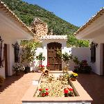 Our beatiful traditional courtyard with fountain