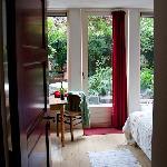 Entry to Garden room