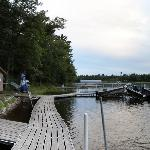 Dock Area on Gull Lake