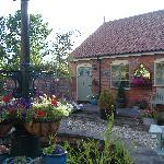 'Milkmaid Cottage' from the lovely courtyard