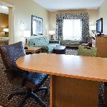 Living Room of One Bedroom Suite