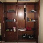 The open cupboard room 277