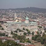 The Castle - taken from the Buda Hills