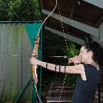 Mum liked archery