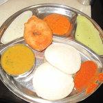 Idly Vada Sambhar