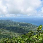 View from the top facing south--you can see the Maria Islands