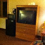 télé frigo et micro-ondes