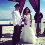 our wedding at Playacar