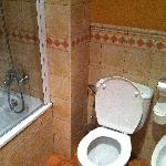 Toilet area in Bathroom