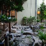 Zen garden at Kyoya