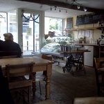 Interior of Howgills Bakery and Tea Room