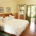 Double rooms with own en-suite bathroom and private verandah
