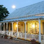Beautiful summer evenings on your private garden-facing verandah.