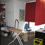 Ironing room at the ViennArt Hotel