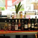 Top End Branded Spirits at all bars