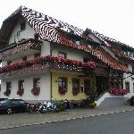 Landgasthof Kranz from the street