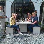 Wine tasting tour with the other guests