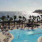 View from room's balcony- Hilton Malta