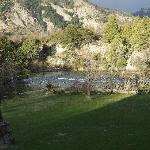 una vista del rio