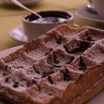 Our Traditional Belgian Waffles, served since 1948