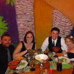 dinner at Samba