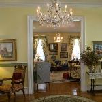 Photo Courtesy of Joseph Squillante (Foyer into front Parlor Room)