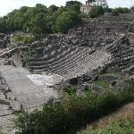 Adjacent Roman theatre