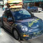 Eddie Burger delivery car