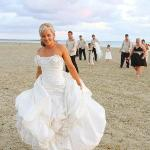 Wedding Shot on the beach