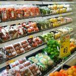 Less than 100m away from the hotel is a supermarket that sells a wide range of local fruits amon