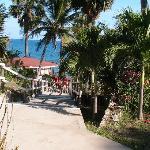 Walkway to Gazebo and Beach