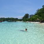 The pristine, warm, calm waters of Koh Lipe
