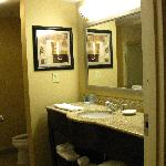 view of bathroom sink area