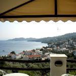 Vista dall'Hotel Renè