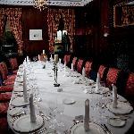 Benjamin Wyatt Room Dinner