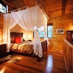 Deluxe Spa Chalet Bedroom