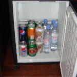 Mini bar dans la chambre (gratuit)