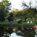 The pond at the inn
