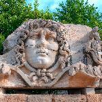 Medusa head at Didymaion