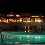 Abendlicher Pool