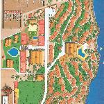 Map of resort