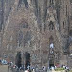 Sagrada Familia, Gaudi.