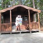 Our mini cabin!