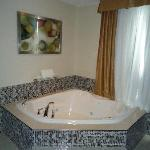 Executive Suite...very comfortable Jacuzzi!