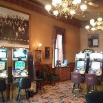 Casino downstairs