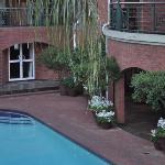 sandton, poolside