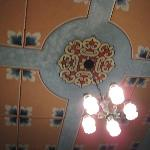 Ceiling in our room!